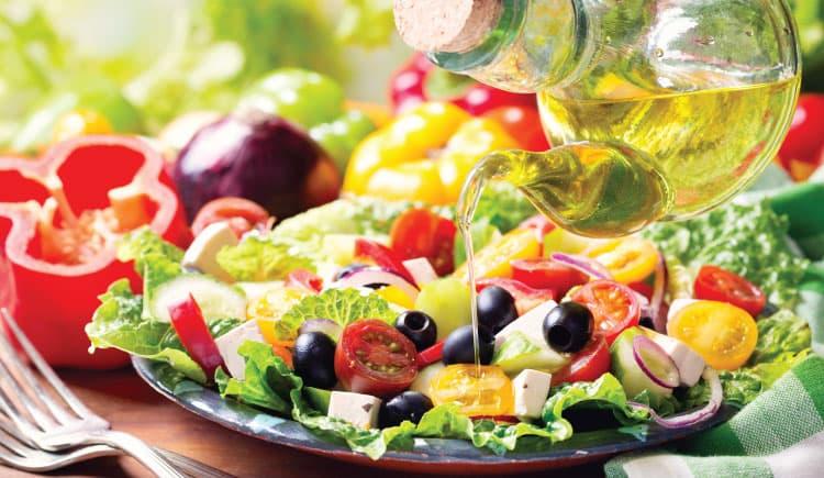 Dieta mediterrânica: a sua saúde à mesa